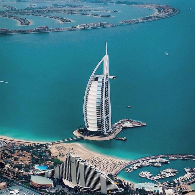 """Loạt ảnh chụp từ trên cao chứng minh Dubai là """"vùng đất đến từ hành tinh khác"""", thật hiếm nơi nào trên thế giới sánh bằng - Ảnh 12."""