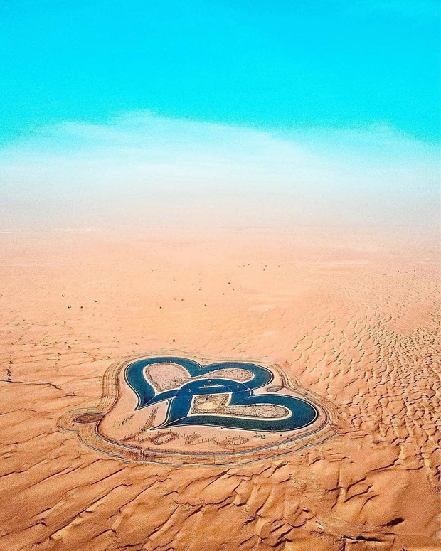 """Loạt ảnh chụp từ trên cao chứng minh Dubai là """"vùng đất đến từ hành tinh khác"""", thật hiếm nơi nào trên thế giới sánh bằng - Ảnh 3."""