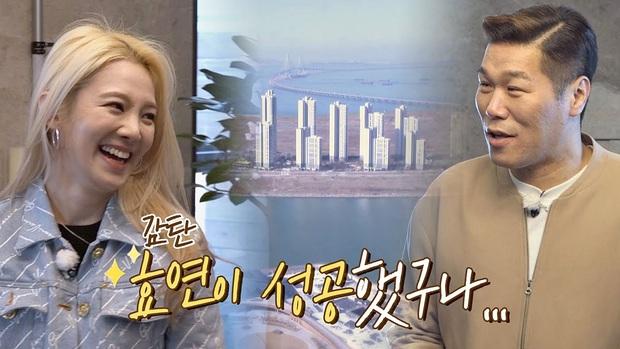 """""""Mỹ nhân kém nổi nhất SNSD"""" Hyoyeon gây choáng với căn penthouse xa xỉ view toàn thành phố, nhìn như khách sạn 5 sao - Ảnh 3."""