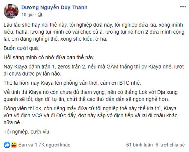 LMHT: Dân mạng xì xào Zeros về thì Kiaya lại ra rìa, HLV Tinikun phản pháo vô địch VCS thì cần ai thương hại? - Ảnh 3.