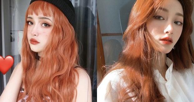Chẳng mấy mà đến hè, các chị điệu nên suy tính nhuộm tóc cam rực rỡ luôn đi là vừa - Ảnh 1.