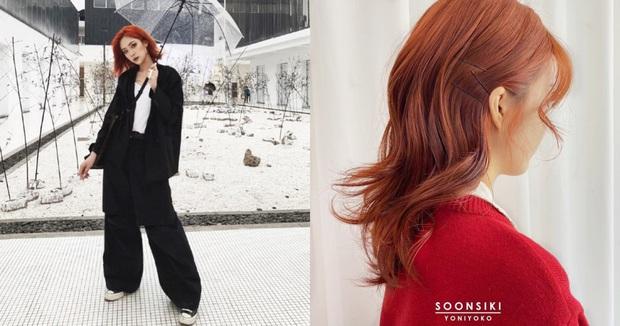 Chẳng mấy mà đến hè, các chị điệu nên suy tính nhuộm tóc cam rực rỡ luôn đi là vừa - Ảnh 2.