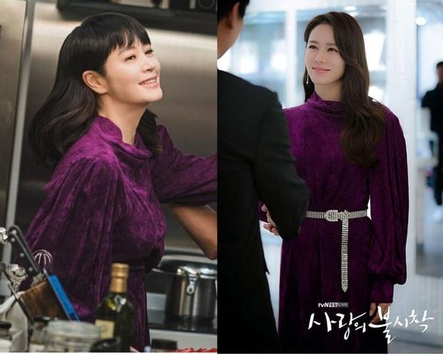 Nữ hoàng sexy Kim Hye Soo đụng váy với Son Ye Jin nhưng vì kiểu tóc nối siêu ẩu mà cô bị đàn em bỏ xa - Ảnh 5.