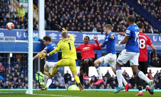 De Gea sai lầm tai hại, Man United suýt toang trước Everton trong trận cầu drama xuất hiện đúng phút cuối cùng - Ảnh 6.