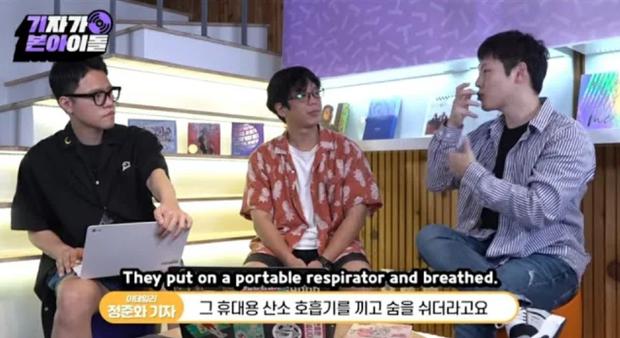Dốc 100% nhiệt huyết trên sân khấu, BTS gây xót xa khi người trong ngành tiết lộ nhóm từng ngã gục, phải thở oxy sau cánh gà - Ảnh 6.