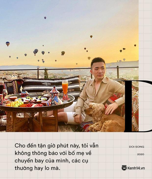 Tiếp viên trưởng Vietnam Airlines trên những chuyến bay cuối cùng vào tâm dịch: Tôi không dám nói với bố mẹ, chắc là lúc nào hạ cánh sẽ nhắn - Ảnh 4.