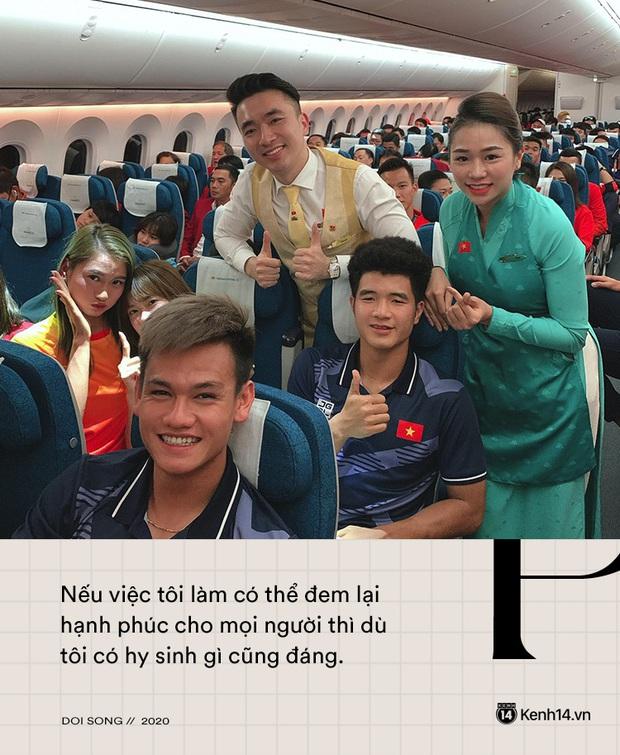 Tiếp viên trưởng Vietnam Airlines trên những chuyến bay cuối cùng vào tâm dịch: Tôi không dám nói với bố mẹ, chắc là lúc nào hạ cánh sẽ nhắn - Ảnh 5.