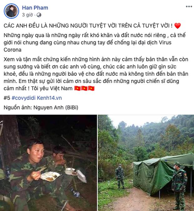 K-ICM, Puka và dàn sao Vbiz đồng loạt gửi lời nhắn tới các chiến sĩ chống dịch: Cảm ơn vì sự hi sinh cao cả thầm lặng! - Ảnh 8.