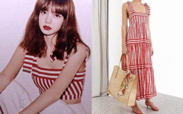 """Stylist Black Pink cắt đồ hiệu không nương tay, từ váy dài thành crop top khiến Lisa muốn """"thắm"""" cũng khó lòng - Ảnh 2."""