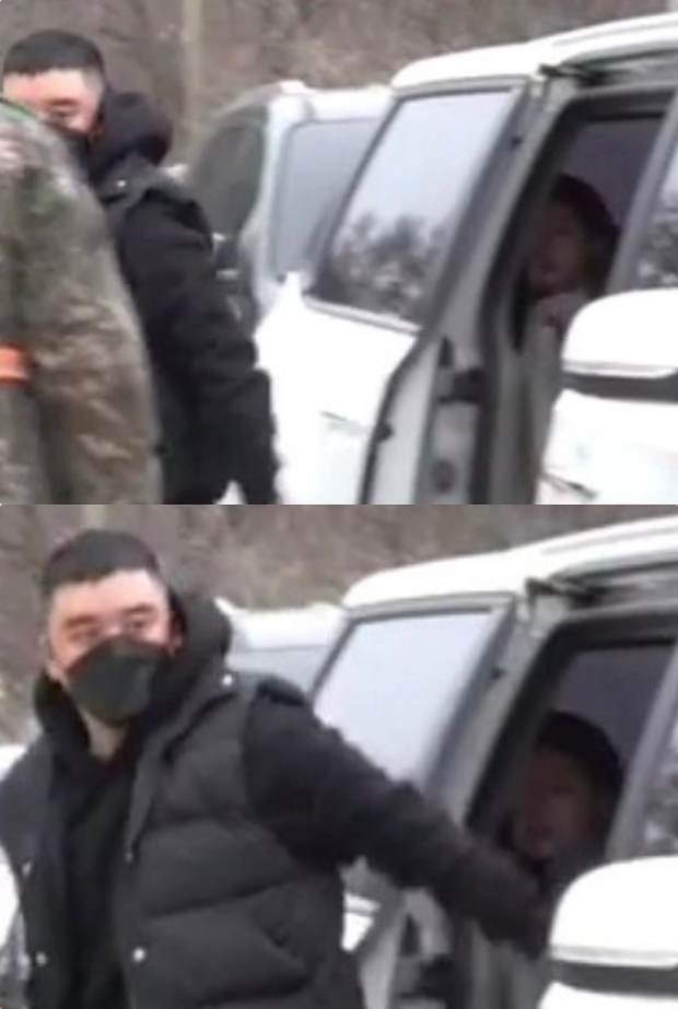 Bạn gái bí mật bị nghi xuất hiện trong clip nhập ngũ của Seungri: Chính là bạn thân sexy của Jisoo (BLACKPINK) ngày nào? - Ảnh 2.