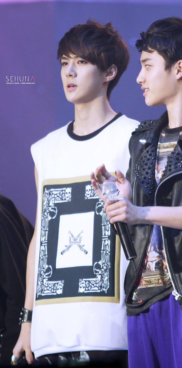 """Tuổi debut của loạt em út trong các boygroup đình đám gây sốc: Thành viên nhóm nhạc """"đông dân"""" phá kỉ lục của SM, Jungkook (BTS) đúng chuẩn em chưa 18 - Ảnh 7."""