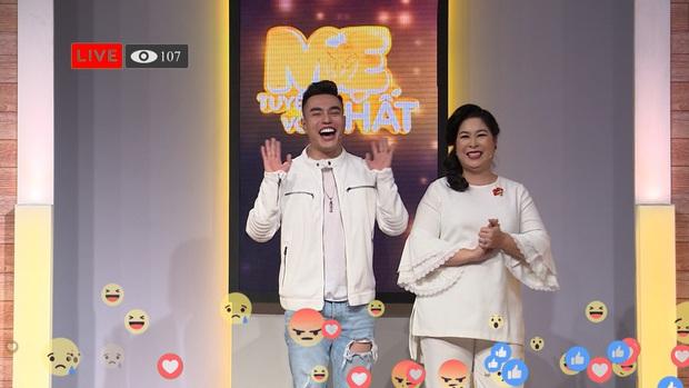 Lê Dương Bảo Lâm chơi lớn, tặng mẹ nhẫn kim cương trên sóng truyền hình - Ảnh 7.