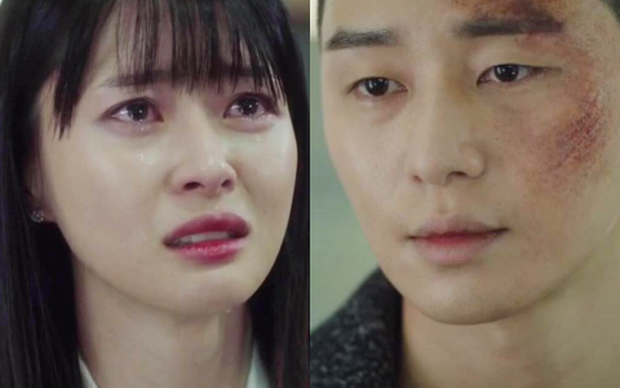 """Xem fan Soo Ah - Yi Seo """"khẩu chiến"""" danh xưng nữ chính Tầng Lớp Itaewon, ai còn nhớ """"chị Nguyệt"""" IU từng khổ không kém? - Ảnh 6."""