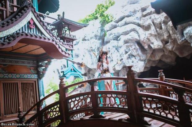 LMHT: Ngắm nhìn vẻ đẹp thoát tục tựa tiên nữ của cosplayer Trung Quốc trong bộ ảnh Irelia Thánh Kiếm - Ảnh 6.