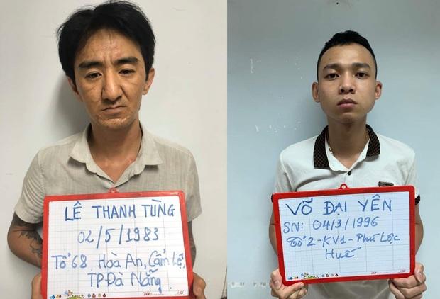 Đang nhận 1 kg ma túy đá, 2 đối tượng bị công an bắt giữ - Ảnh 2.