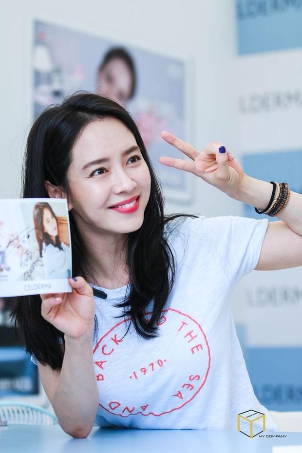 Cứ tưởng sút cân xuống sắc, ai dè loạt hình khoe hậu trường mới của mợ ngố Song Ji Hyo lại gây bão vì bùng nổ visual - Ảnh 7.