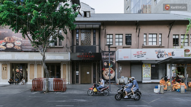 Những con đường sầm uất bậc nhất Sài Gòn nay còn đâu: Hàng loạt quán xá treo biển đóng cửa, hưởng ứng lời kêu gọi chống dịch Covid-19 - Ảnh 11.