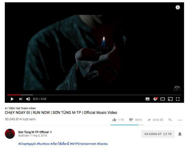 Jack ôm trọn top 1 trending và cán mốc 50 triệu view sau 10 ngày, Vpop quả thật chỉ còn Sơn Tùng M-TP mới có thể chống đỡ! - Ảnh 4.
