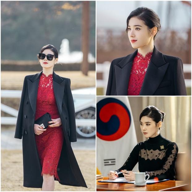 Điên đảo với thần thái nữ thủ tướng ở Bệ Hạ Bất Tử của Lee Min Ho, visual sắc sảo thế này tiễn Kim Go Eun ra chuồng gà được chưa? - Ảnh 2.