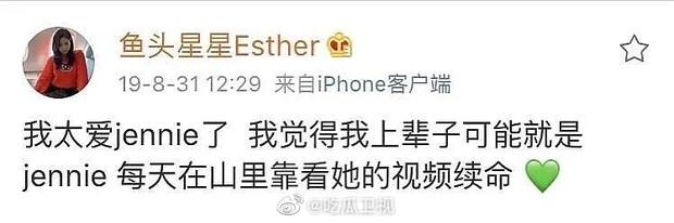 Biến căng Weibo: Ngu Thư Hân thích Jennie nhưng lươn lẹo giả vờ phát cuồng vì Lisa, muốn kết đôi với Thái Từ Khôn? - Ảnh 3.