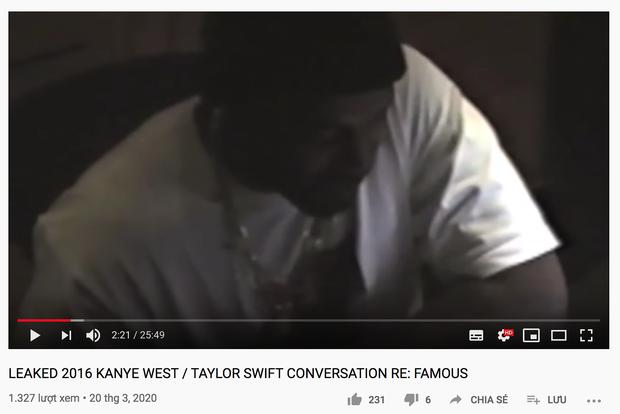HOT DRAMA: Rò rỉ toàn bộ cuộc điện thoại Kanye West lươn lẹo với Taylor Swift về sự xuất hiện trong MV Famous năm 2016, vợ chồng Kim mới là kẻ nói dối? - Ảnh 2.