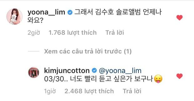 Yoona (SNSD) bất ngờ hỏi thăm Suho (EXO) giữa thanh thiên bạch nhật, fan giật mình tưởng thả thính nhau ai ngờ lại là màn PR dạo trắng trợn - Ảnh 3.
