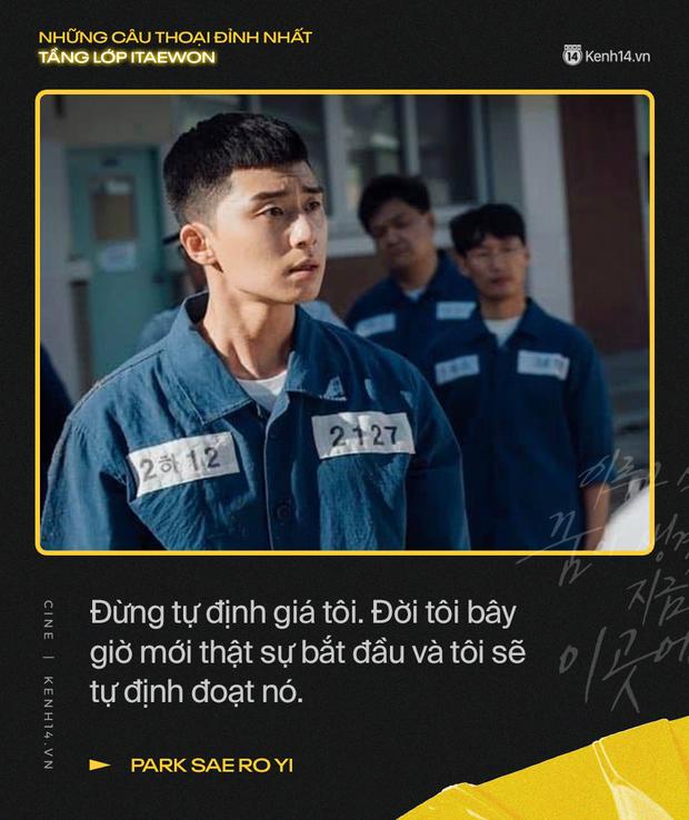 13 câu thoại đỉnh nhất Tầng Lớp Itaewon: Tôi nhất định sẽ giết hết những kẻ đụng vào người đàn ông này - Ảnh 1.