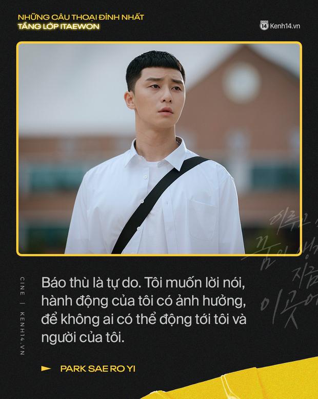 13 câu thoại đỉnh nhất Tầng Lớp Itaewon: Tôi nhất định sẽ giết hết những kẻ đụng vào người đàn ông này - Ảnh 12.