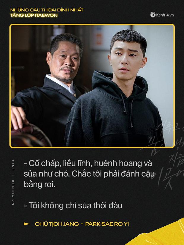 13 câu thoại đỉnh nhất Tầng Lớp Itaewon: Tôi nhất định sẽ giết hết những kẻ đụng vào người đàn ông này - Ảnh 13.