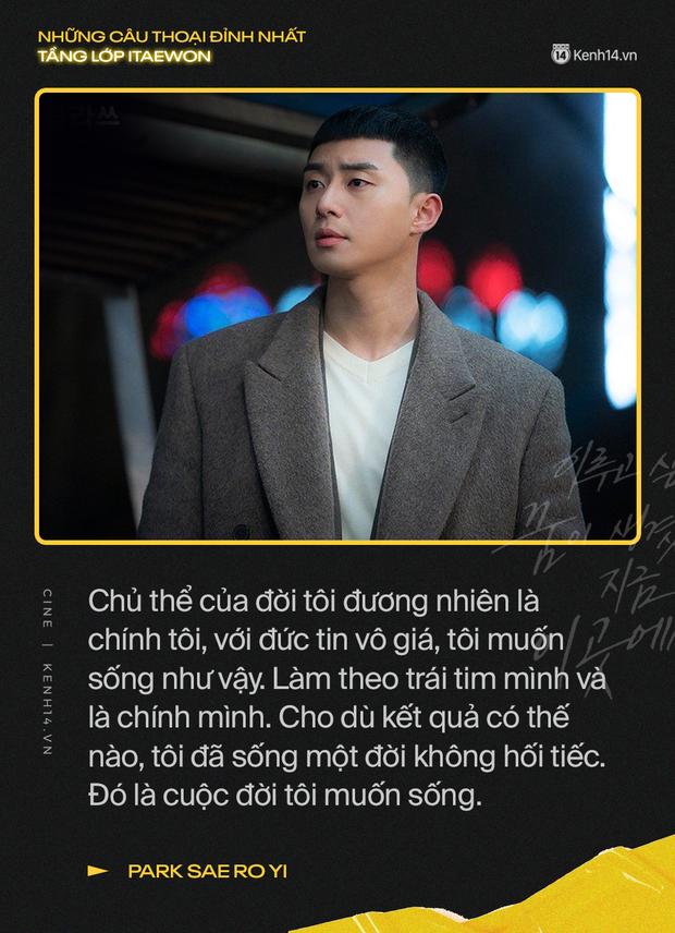 13 câu thoại đỉnh nhất Tầng Lớp Itaewon: Tôi nhất định sẽ giết hết những kẻ đụng vào người đàn ông này - Ảnh 2.