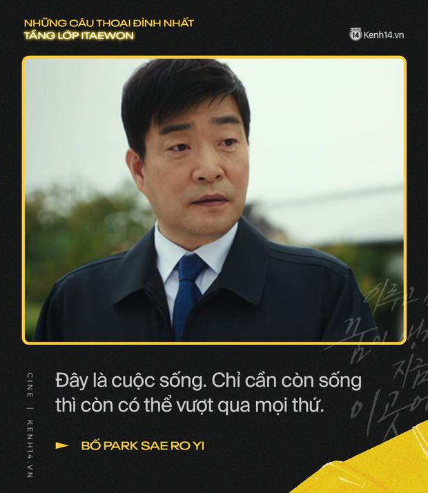 13 câu thoại đỉnh nhất Tầng Lớp Itaewon: Tôi nhất định sẽ giết hết những kẻ đụng vào người đàn ông này - Ảnh 3.