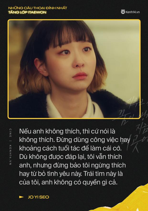13 câu thoại đỉnh nhất Tầng Lớp Itaewon: Tôi nhất định sẽ giết hết những kẻ đụng vào người đàn ông này - Ảnh 5.