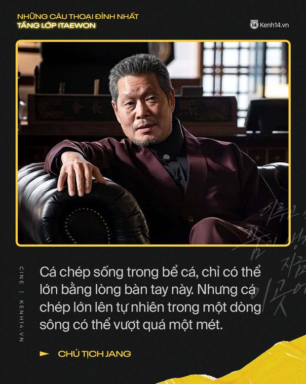 13 câu thoại đỉnh nhất Tầng Lớp Itaewon: Tôi nhất định sẽ giết hết những kẻ đụng vào người đàn ông này - Ảnh 9.
