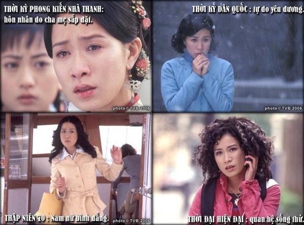 11 vai diễn làm nên tên tuổi Nhất Tỉ TVB Xa Thi Mạn: Trùm tắc kè hoa là chị, 4 vai một phim còn trị được huống gì tiểu tam đam mĩ - Ảnh 5.