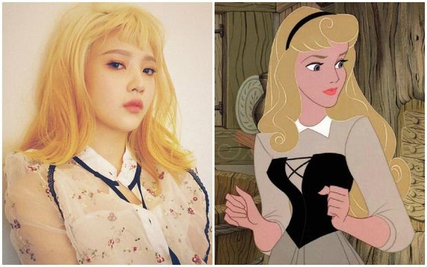 Nhờ stylist quá lậm phim hoạt hình, Joy (Red Velvet) bỗng dưng trở thành công chúa Disney đời thực tới gần chục lần - Ảnh 4.