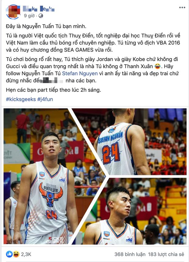 Nam thần bóng rổ Việt Nam phải thanh minh giữa đêm khi bị hiểu nhầm là bad boy, cũng chỉ vì hình tượng trai bóng rổ ngọt nước - Ảnh 3.
