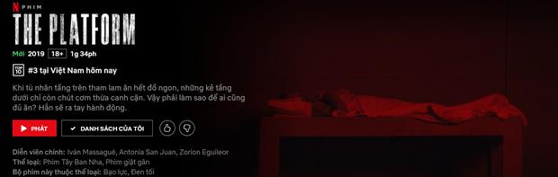 Hàng loạt cây viết uy tín quốc tế khen hết lời The Platform - phim kinh dị vừa ra mắt đã lọt top 3 Netflix Việt Nam - Ảnh 7.