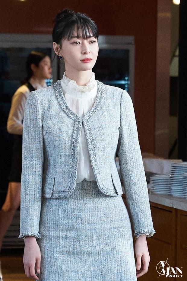Bộ ảnh nữ phụ gây tranh cãi nhất Itaewon Class ở tập cuối: Visual bị ém bao lâu nay đã bung xoã, sống mũi như muốn đòi mạng fan - Ảnh 3.