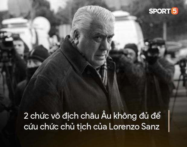 Chân dung Lorenzo Sanz, vị cựu chủ tịch yêu Real bằng cả trái tim nhưng bị đối xử thiếu công bằng, đến chết vẫn còn uất ức - Ảnh 2.