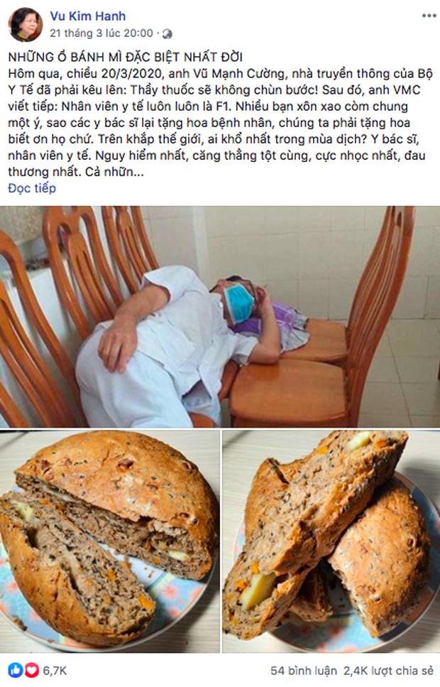 Sau bánh mì thanh long, bánh mì dinh dưỡng của ông Kao Siêu Lực tiếp tục gây sốt: Dành tặng cho các y bác sĩ tuyến đầu chống dịch, để 1 tuần ăn vẫn ngon - Ảnh 4.