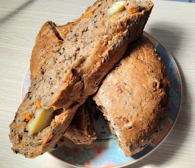 Sau bánh mì thanh long, bánh mì dinh dưỡng của ông Kao Siêu Lực tiếp tục gây sốt: Dành tặng cho các y bác sĩ tuyến đầu chống dịch, để 1 tuần ăn vẫn ngon - Ảnh 5.