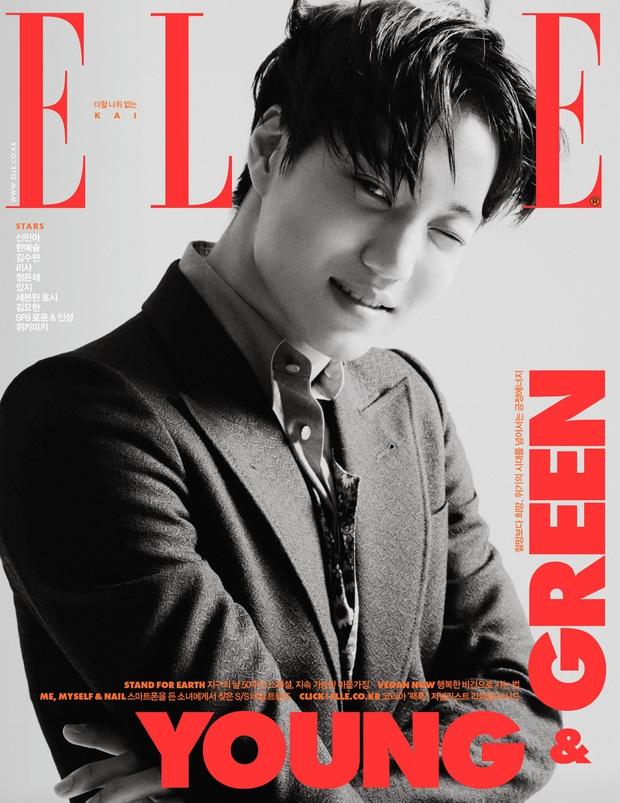 Cặp tình cũ Kai (EXO) và Krystal f(x) lên bìa tạp chí tháng 3, ai dè dân tình soi ra chi tiết trùng hợp đến đáng nghi - Ảnh 6.