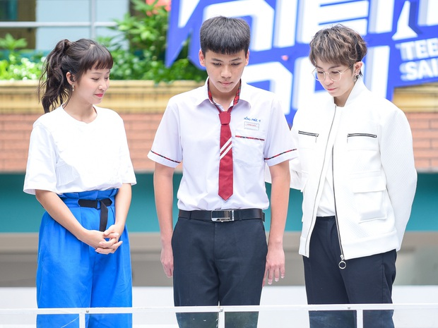 Dù không được bố chấp nhận, nam sinh lớp 11 dũng cảm come out trước cả trường và trên sóng truyền hình - Ảnh 3.