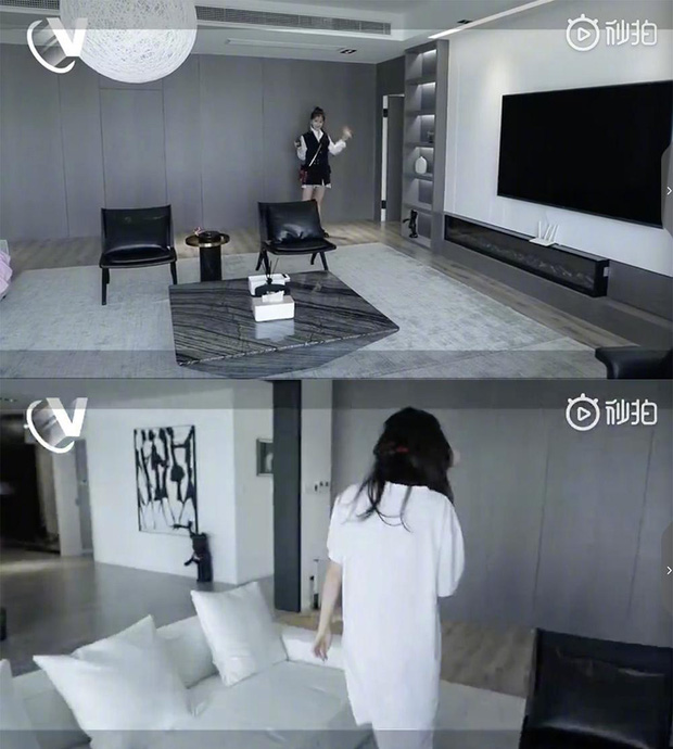 Hé lộ căn hộ Thượng Hải siêu sang của Thánh lố Ngu Thư Hân: Ngập tràn hàng hiệu, không khác gì trung tâm mua sắm - Ảnh 3.