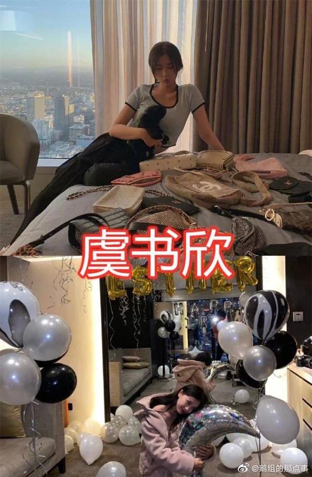 Hé lộ căn hộ Thượng Hải siêu sang của Thánh lố Ngu Thư Hân: Ngập tràn hàng hiệu, không khác gì trung tâm mua sắm - Ảnh 6.