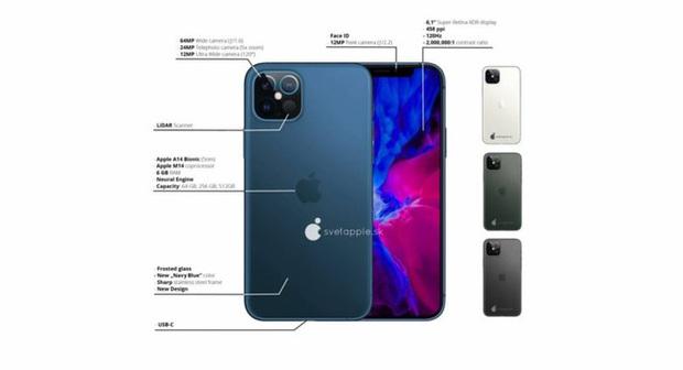 Ngắm thử iPhone 12 với thiết kế camera LiDAR, hóa ra Apple thiết kế hình vuông là có lý do cả - Ảnh 4.