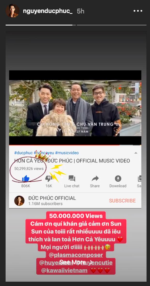 Đức Phúc không biết nên khóc hay nên cười: MV đạt đến 50 triệu view rồi mà vẫn chưa được hát live chuẩn chỉnh trên sân khấu cho fan nghe! - Ảnh 3.
