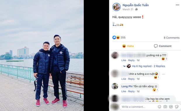 Hải, quay xe bỗng dưng hot trên mạng, tiền vệ Quang Hải của tuyển Việt Nam liên tục bị réo tên hài hước - Ảnh 3.