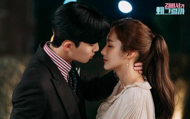 Cảnh giường chiếu dữ dội của Park Seo Joon và Park Min Young ở Thư Kí Kim được hùng hổ đào mộ, cán mốc 50 triệu view - Ảnh 5.