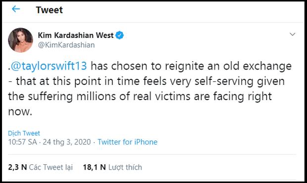 Không phải Kanye West, Kim Kardashian và hội chị em mới là người đáp trả Taylor Swift gay gắt, vẫn buộc tội cô là kẻ dối trá, bóp méo sự thật? - Ảnh 1.
